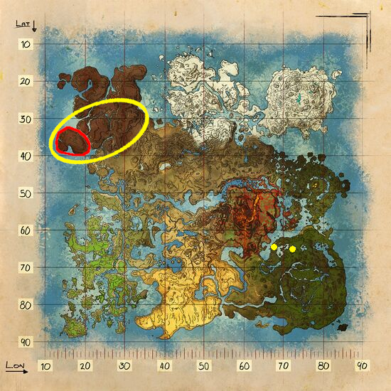 洞窟 アーク アイランドの洞窟初級編!狩人の洞窟の場所は?ペットと共に攻略せよ!