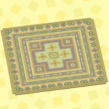 きいろいキリムのカーペット2.jpg