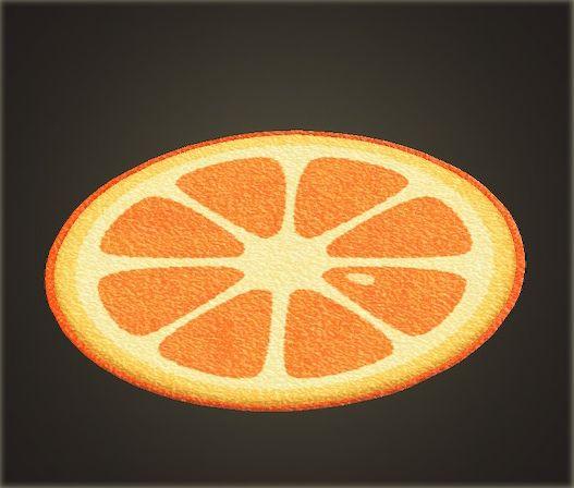 オレンジのラグ.jpg