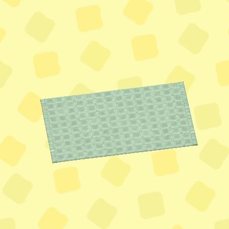 グリーンのシンプルバスマット2.jpg