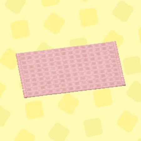 ピンクのシンプルバスマット2.jpg