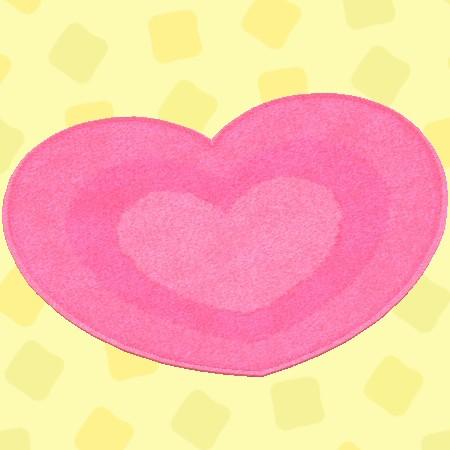 ピンクハートのラグ2.jpg