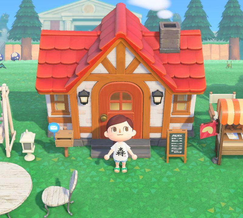 の ホーム 森 屋根 あつ 色 マイ