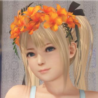 オレンジ色の花かんむり.jpg