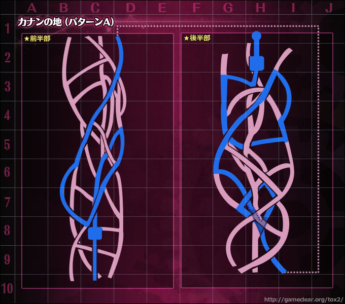 Strength To Protect Xillia 2 Final Dungeon Maps Spoiler Free